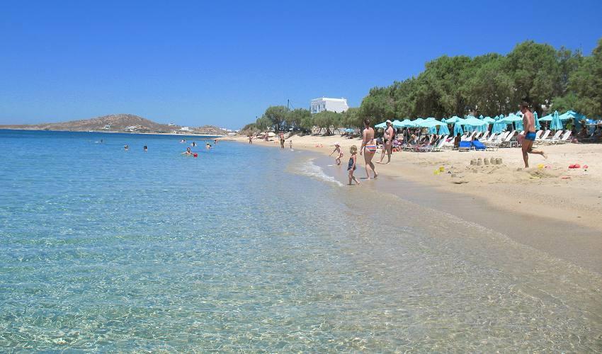 Agia Anna Beach Naxos Greece