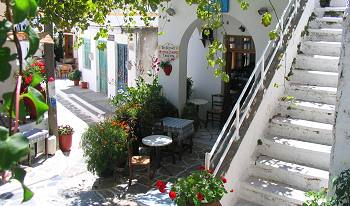 Koronos Village on Naxos Island