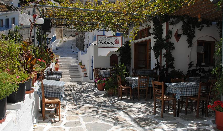 Koronos Naxos Greece