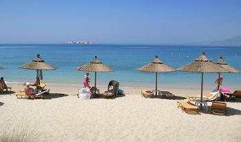Plaka Beach Naxos Greece Island