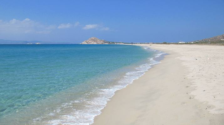 Kastraki beach, Naxos Greece